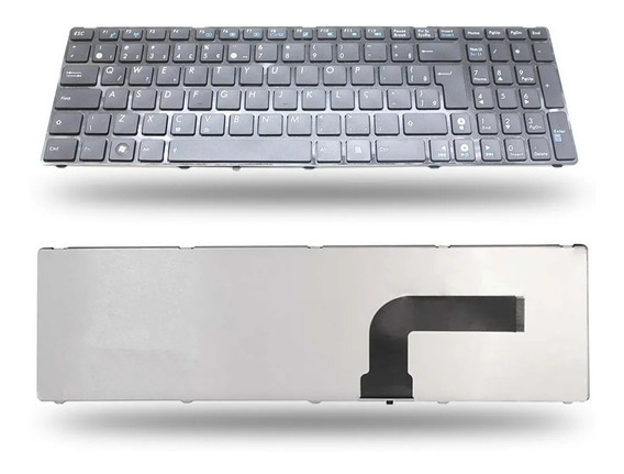 Teclado Notebook Asus N53s K52n K53 X55a X55c X55u Br Novo