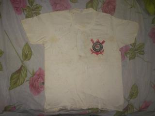 Camisa Do Corinthians Antiga Com Autógrafo Dos Jogadores 85