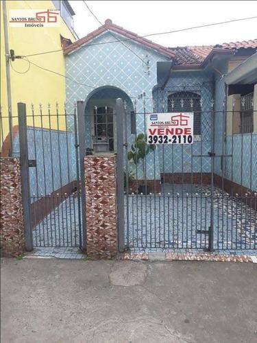 Casa Com 2 Dormitórios À Venda, 175 M² Por R$ 450.000,00 - Vila Anastácio - São Paulo/sp - Ca0061