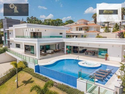 Casa Com 4 Dormitórios À Venda, 889 M² Por R$ 6.500.000,00 - Condomínio Morada Do Sol - Vinhedo/sp - Ca2513