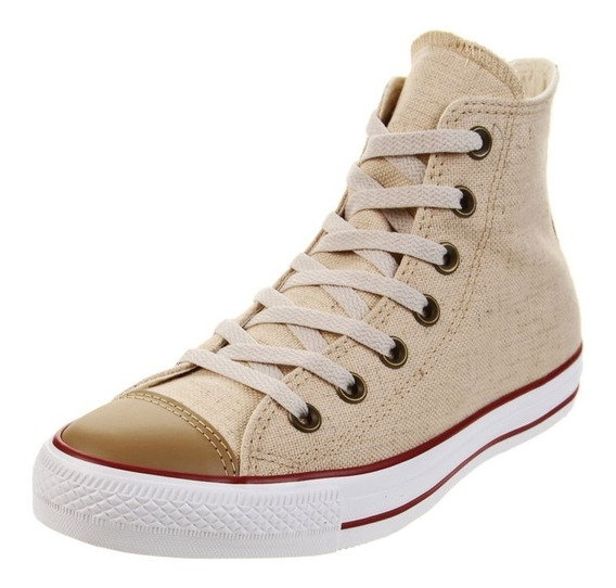 Zapatillas Converse All Star Linen Hi - Natural - (157074)