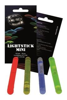 Pack 10 Barritas Mini Luces Quimicas Compactas