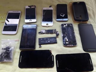 iPhone 4, Motorola (lote De Sucatas)