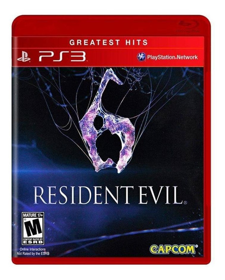Jogo Novo Mídia Física Resident Evil 6 Greatest Hits Pra Ps3