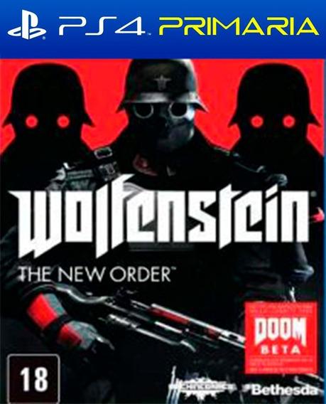 Wolfenstein: The New Order Ps4 - Original 1