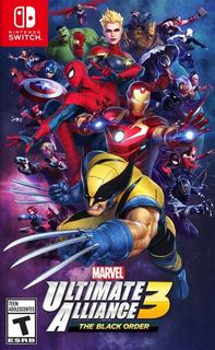 Marvel Ultimate Alliance 3 Nintendo Switch Fisico Sellado !!