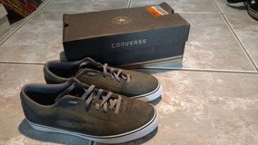 Tênis Converse Skateboard Elm Ls Cinza Original Seminovo