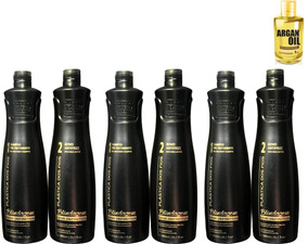 3 Kit Blindagem Dos Fios Semi Definitiva 3 Shampoo + 3 Ativo
