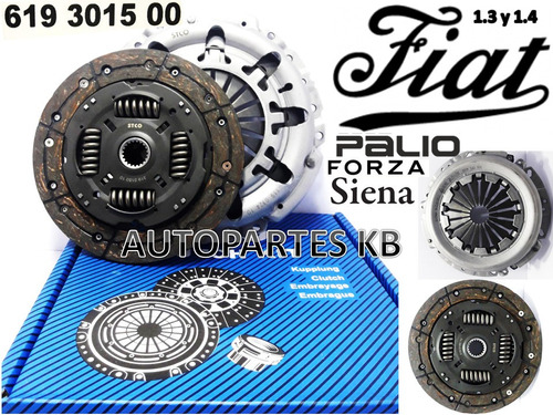 Kit De Clutch Croche Fiat Palio Siena Uno 1.3 - 16 Val- /1.4