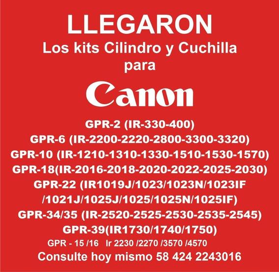 Kit De Cilindro Y Cuchilla Gpr 22 39 18 2 34 35 10 6 15 16