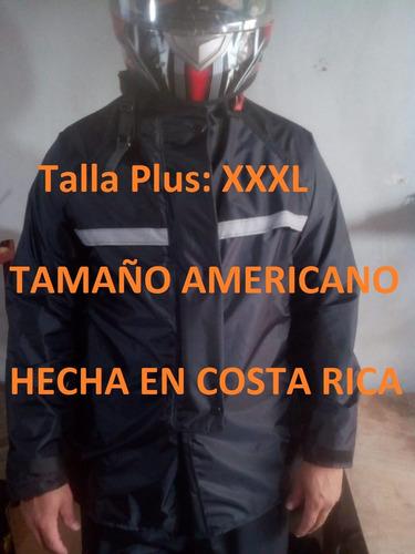 Capa Kamelia Negra Talla Plus Xxxl Impermeabl Scooter Moto
