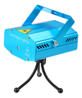 Mini Led Proyector Láser Efecto De Iluminación De Escenario