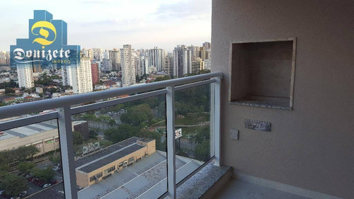 Apartamento Com 3 Dormitórios À Venda, 91 M² Por R$ 689.990,00 - Jardim - Santo André/sp - Ap1364