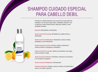 Shampoo De Cuidado Especial Para Cabello Debil Seytu