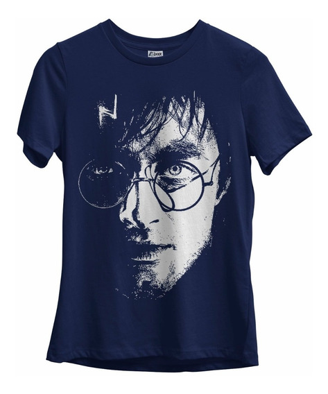Camiseta Feminina Harry Potter Filmes Geek Nerd