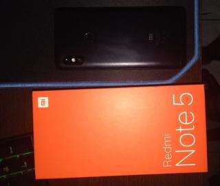 Redmi Note 5 64gb/4ram Preto Com Caixa!