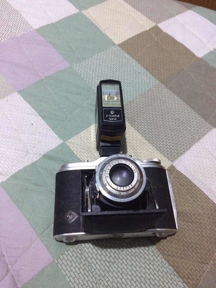 Máquina Fotográfica Antiga Da Germania Marca Agfa