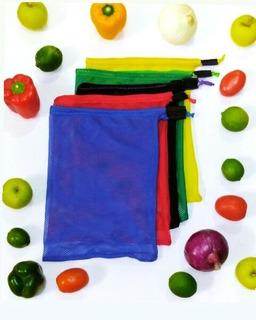 Bolsas Ecológicas Reutilizables Premium Frutas Y Verduras