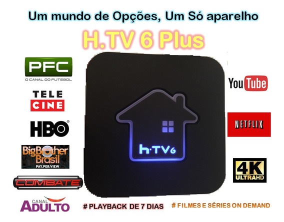 Tv Box Padrão 4k 6) Envio Brasil Todo# Suporte Pós Venda