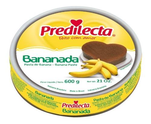 Bananada Lata 600g Predilecta