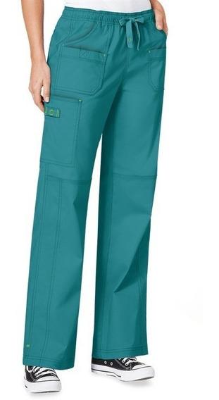 Pantalon Wonder Wink Color Teal Mujer Mod 5108