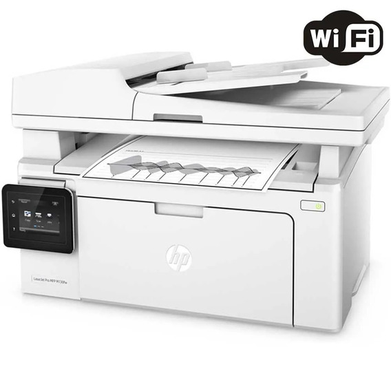 Impressora Multifuncional Hp Laserjet Pro Mfp M130fw Wifi