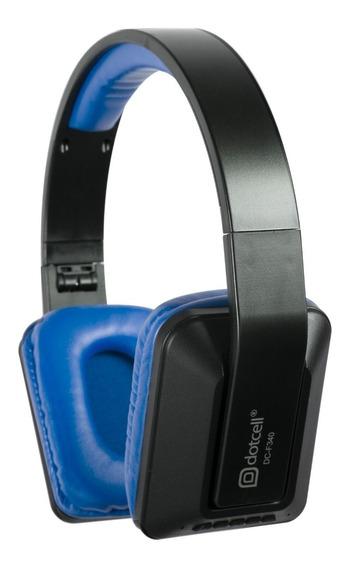 Fone De Ouvido Bluetooth 20khz Super Bass Durável Azul