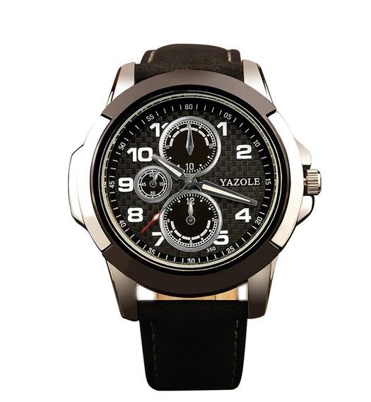 Relógio De Quartzo Luxo Pulseira De Couro Melhor Preço