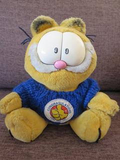 Muñeco Vintage Garfield Americano 1970s
