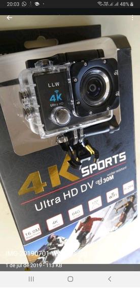 Action Câmera Ultra Hd 4k Go Sports