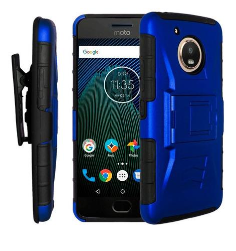 Funda Uso Rudo 3 En 1 Colores Motorola Moto G5