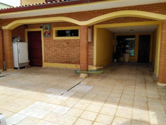 Casa Com 4 Dormitórios À Venda, 200 M² Por R$ 490.000 - Vila Nossa Senhora Das Graças - Taubaté/sp - Ca2435