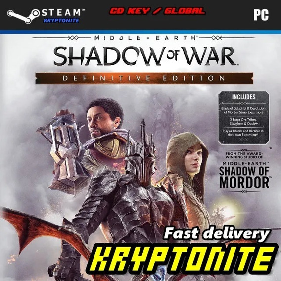 Middle-earth Shadow Of War Definitive Edition Pc Steam