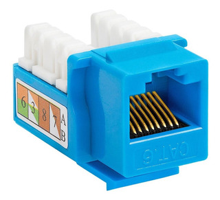 Keystone Jack Rj45 Categoria 6 C&tv Americano Cat6