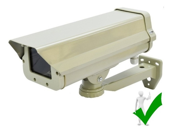 Gabinete Housing Cámara Seguridad Ext/int Antivadálico