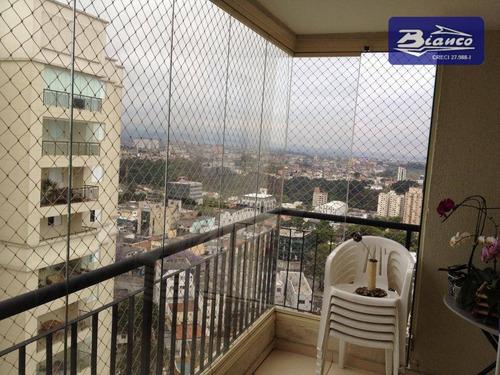 Imagem 1 de 30 de Apartamento Com 3 Dormitórios À Venda, 82 M² Por R$ 570.000,00 - Jardim Zaira - Guarulhos/sp - Ap3949