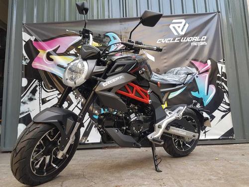 Moto Gilera Gx1 125 R 0km  Tarjetas Color Negro Al 30/4
