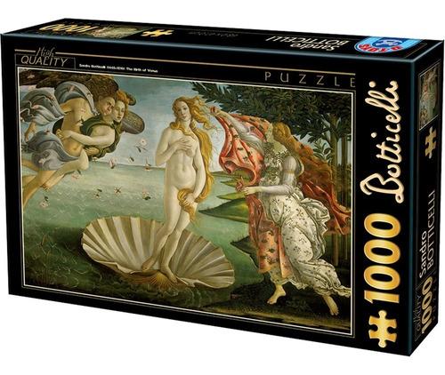 Rompecabezas 1000 Piezas D-toys: Nacimiento De Venus