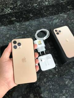 iPhone 11 Pro Gold De 256gb Com Um Mês De Uso
