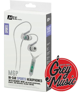 Auricular Mee Audio M6p2- Wh Color Blanco