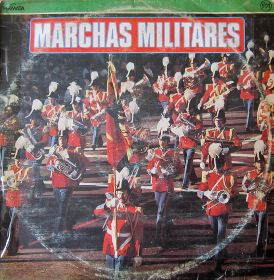 Lp Marchas Militares Paul Yoda And His Orchestra
