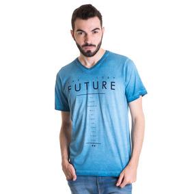 Camiseta Masculina Manga Curta Estonada 33003