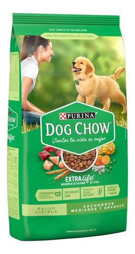 Dog Chow Cachorro Puppy Raza Mediana Y Grande 4 Kg.