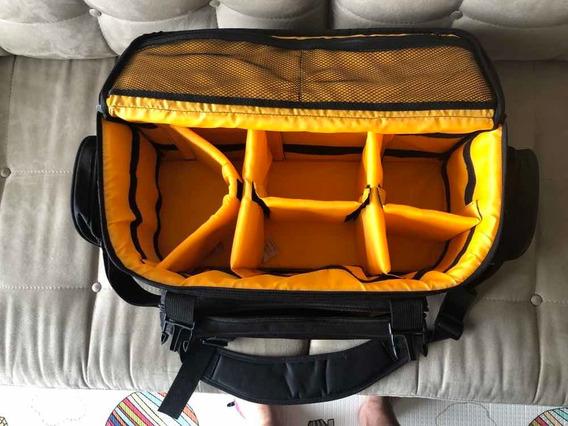 Bolsa/mala Grande Para Câmera Fotográfica E Acessórios