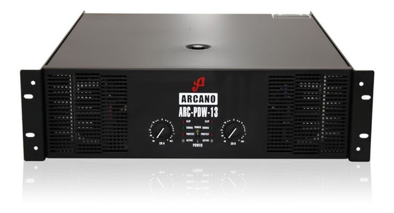 Amplificador De Audio Arcano De Potencia Arc-pdw13 110v