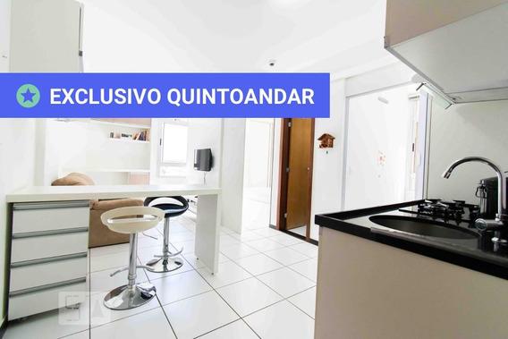 Studio No 2º Andar Mobiliado Com 2 Dormitórios E 1 Garagem - Id: 892961545 - 261545