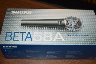 Microfono Shure Beta58a Mexico