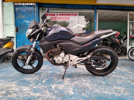 Honda Cb 300 R Azul 2012 Troca Financia Cartão