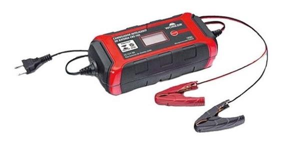 Carregador De Bateria 12v Inteligente 8a 127v Worker Cbs160