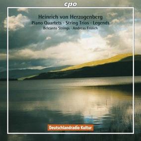 Von Herzogenberg: Cuartetos De Piano /tríos De Cuerda